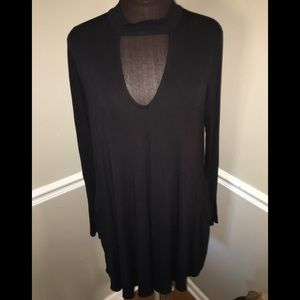 Socialite black dress sz XL